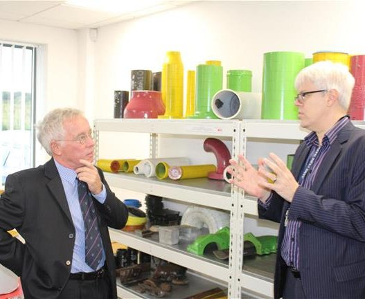 IMechE Yorkshire Chairman visits Sheffield's premier engineering training facility