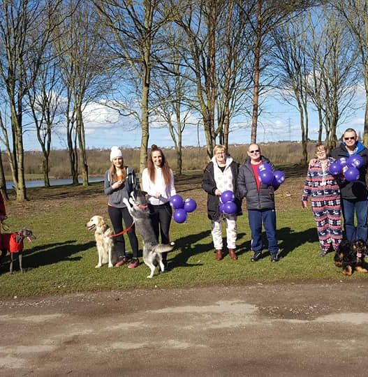 Charity Walk Raises over £550 for Local Cancer Hospital Charity