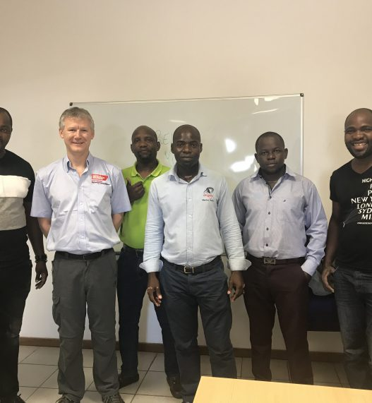 Training Success in Angola